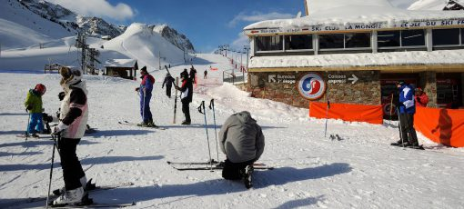 Ski station la Mongie, Grand Tourmalet